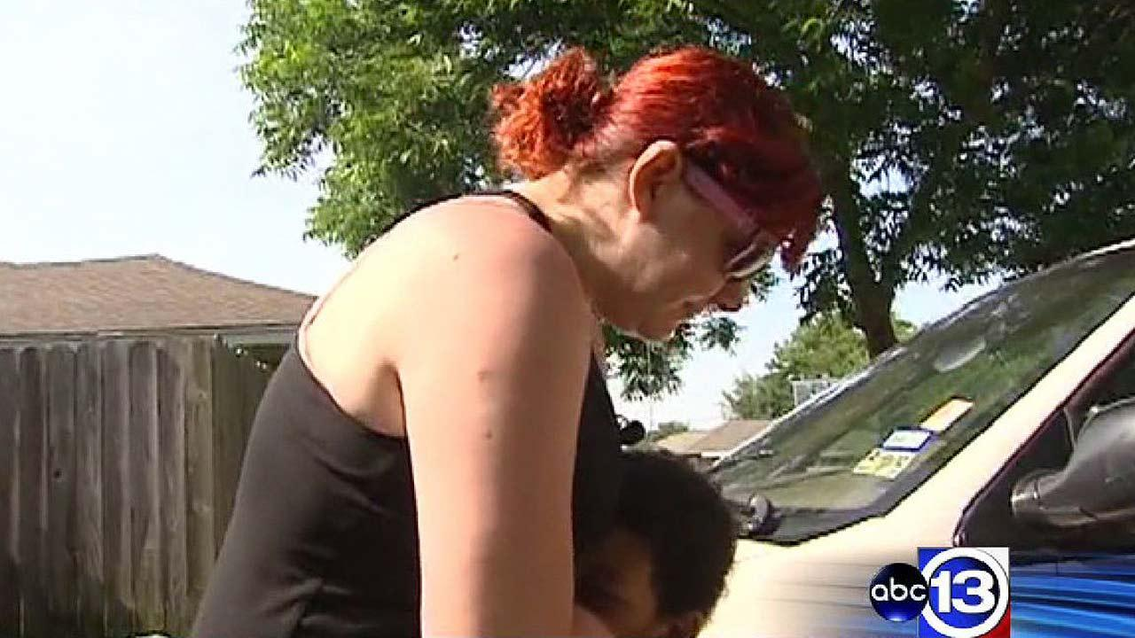 A woman fought back against a carjacker who threatened her small children with a knife, ultimately overpowering him, and even running over the suspect with her van