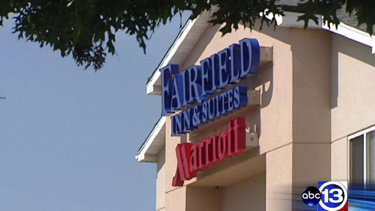 Hotel guest shot during robbery at Fairfield Inn on the Katy Freeway in northwest Houston