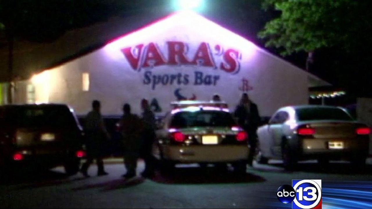 Police are investigating a murder at Varas Sports Bar in north Houston