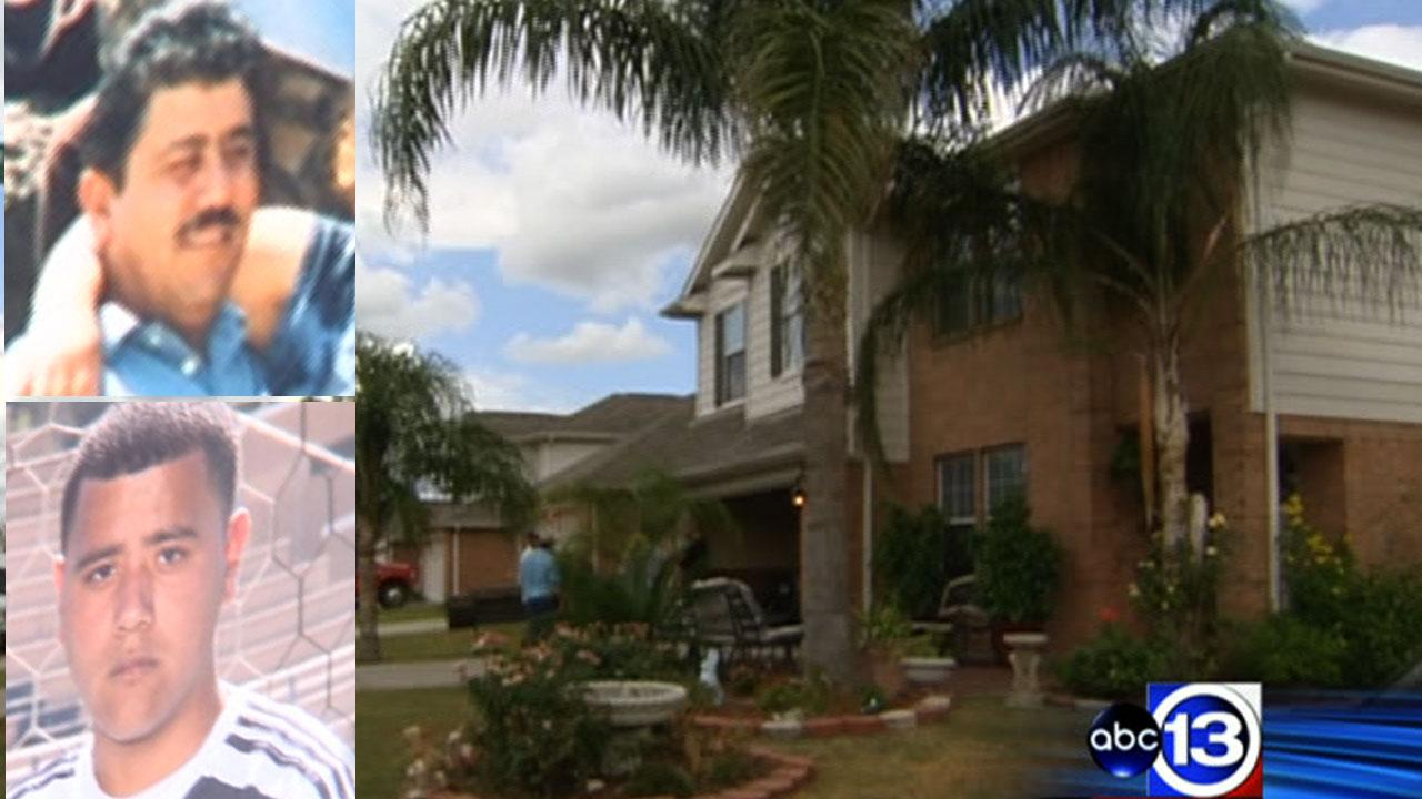 Father and son fatally shot during robbery at east Harris County home; 3 suspects at large