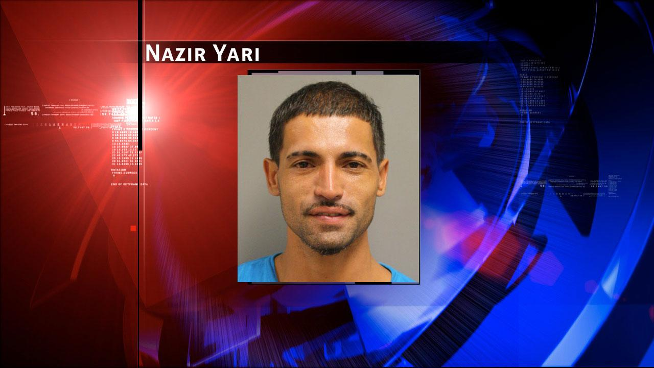 Nazir Yari is charged with arson for a Harris County flea market blaze