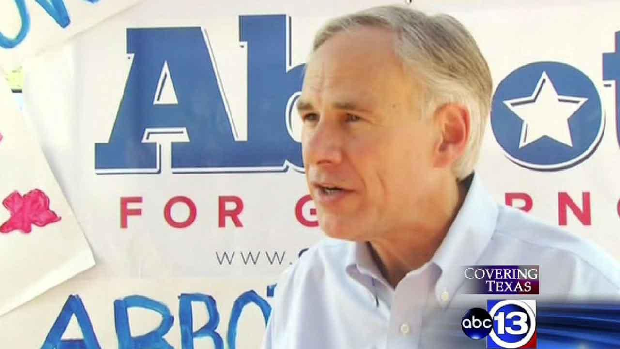 Attorney General Greg Abbott launched his gubernatorial campaign Sunday, July 14, 2013, at a rally in San Antonio