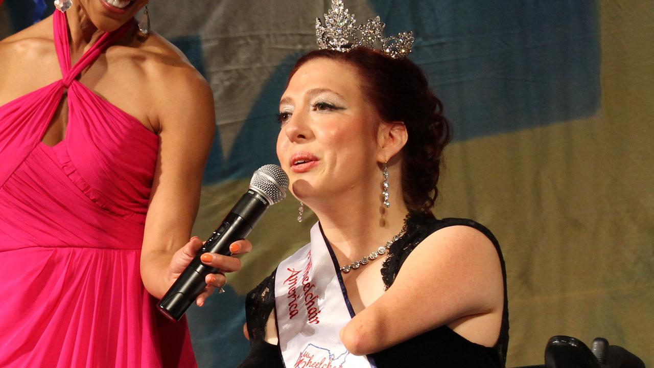 Ms. Wheelchair America 2014 is Jennifer Adams of Washington