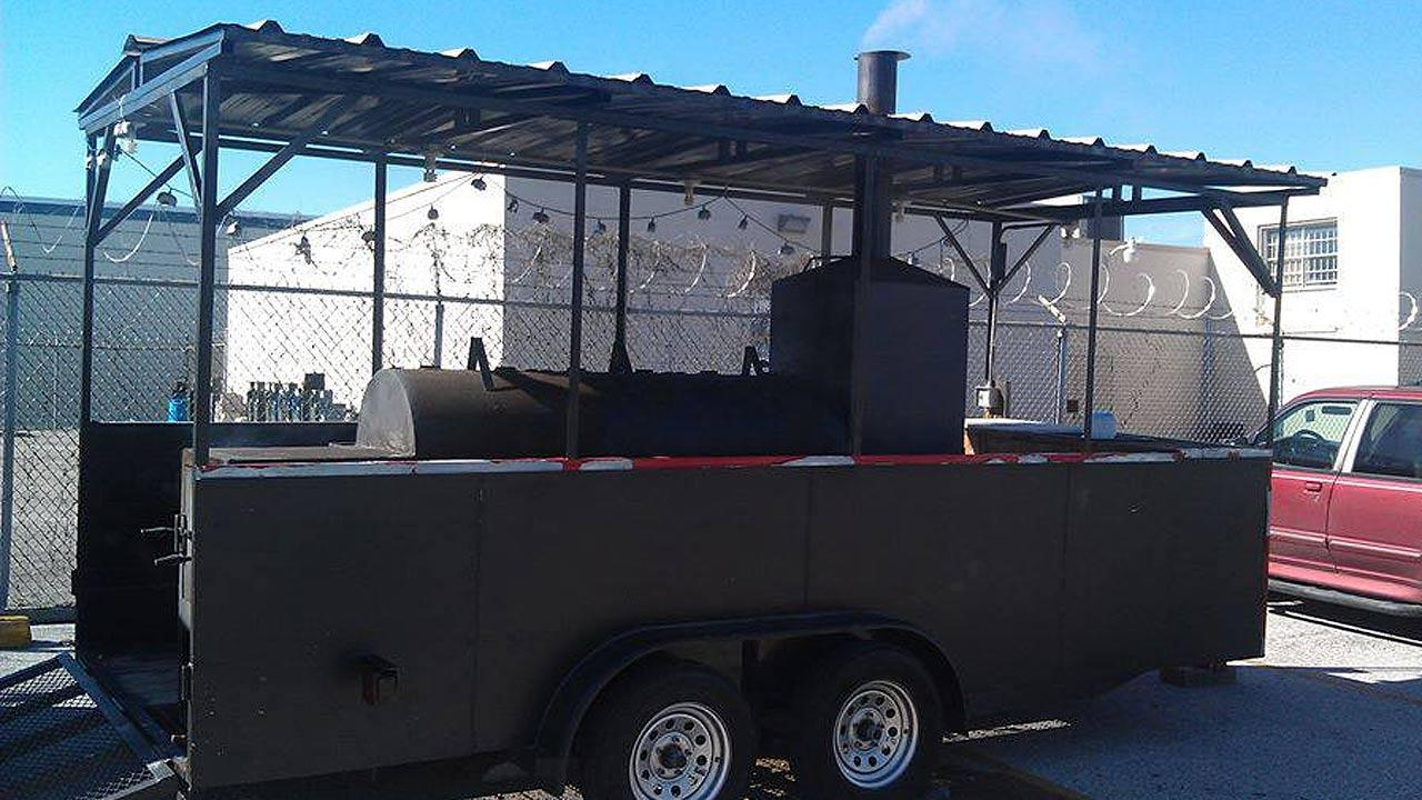 Stolen BBQ pit used for charity fundraisers