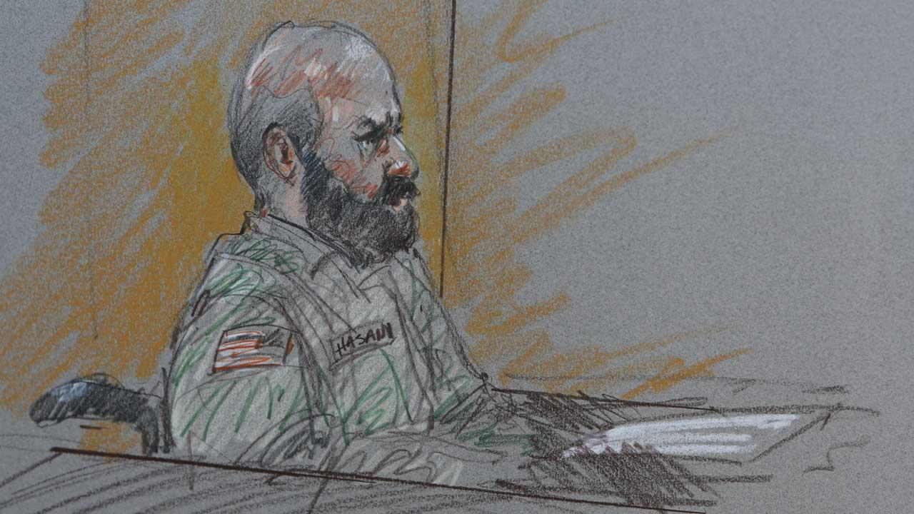 Maj. Nidal Hasan: Evidence will show 'I am the shooter'