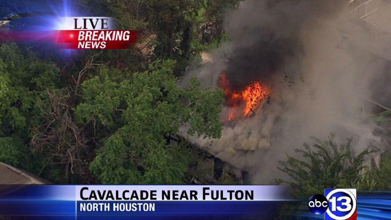 North Houston house fire