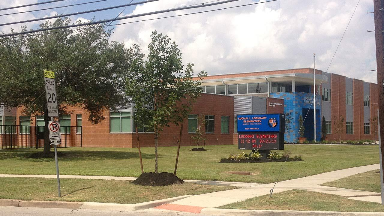 Lockhart Elementary School in Houstons Third Ward
