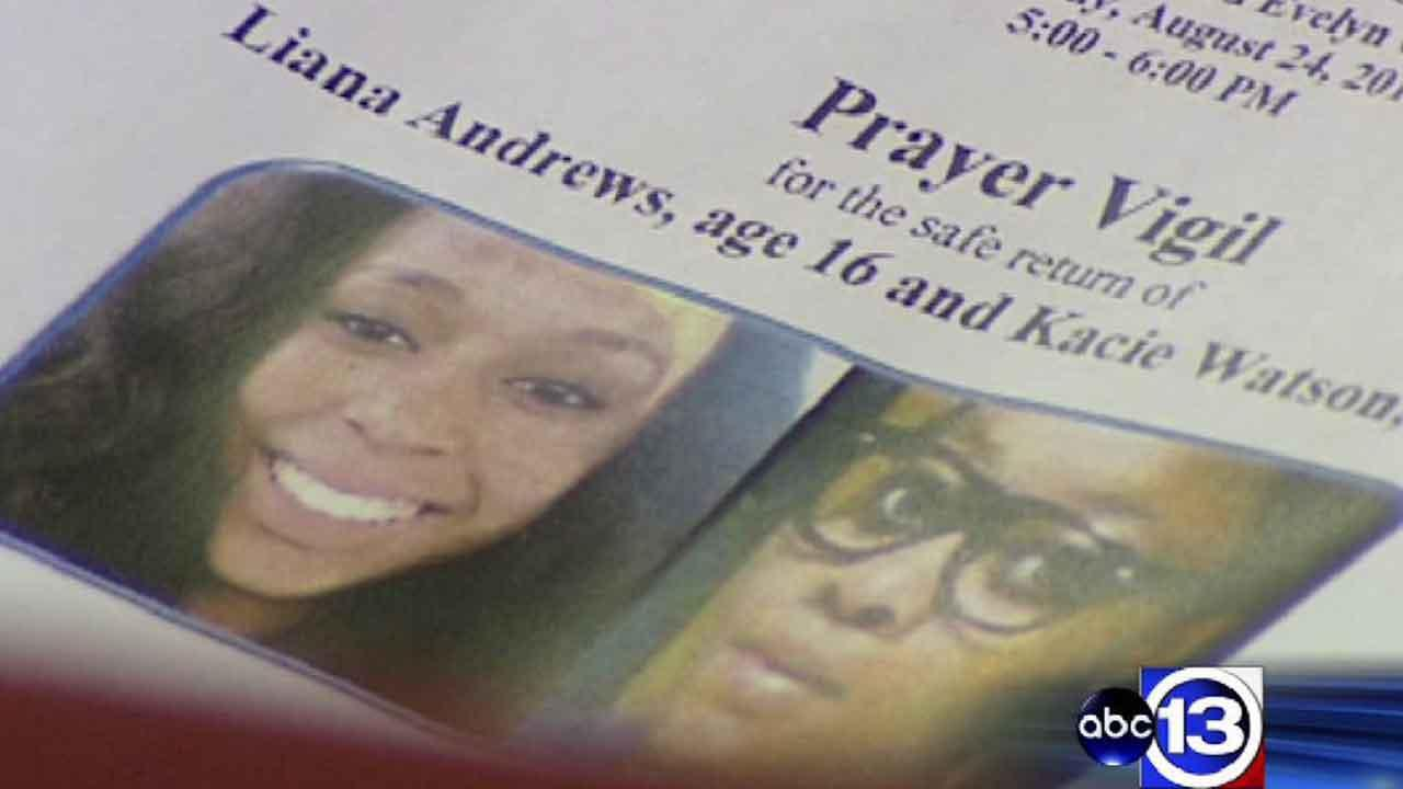 Vigil held for missing Cypress teens