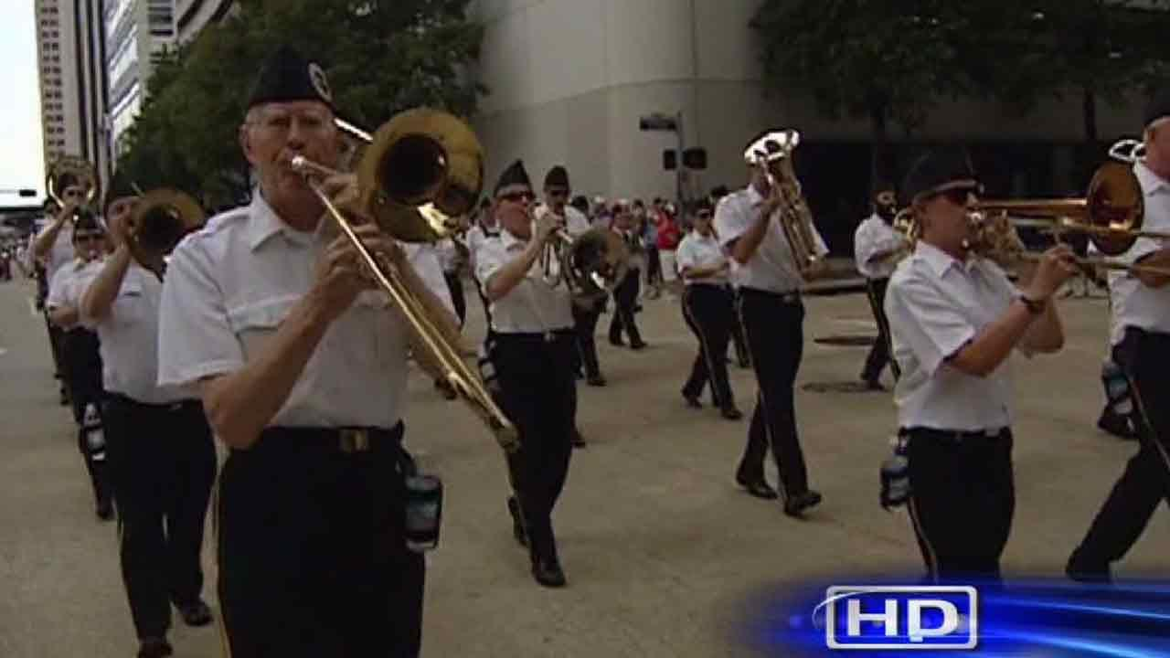 American Legion 95th Convention Parade in downtown Houston