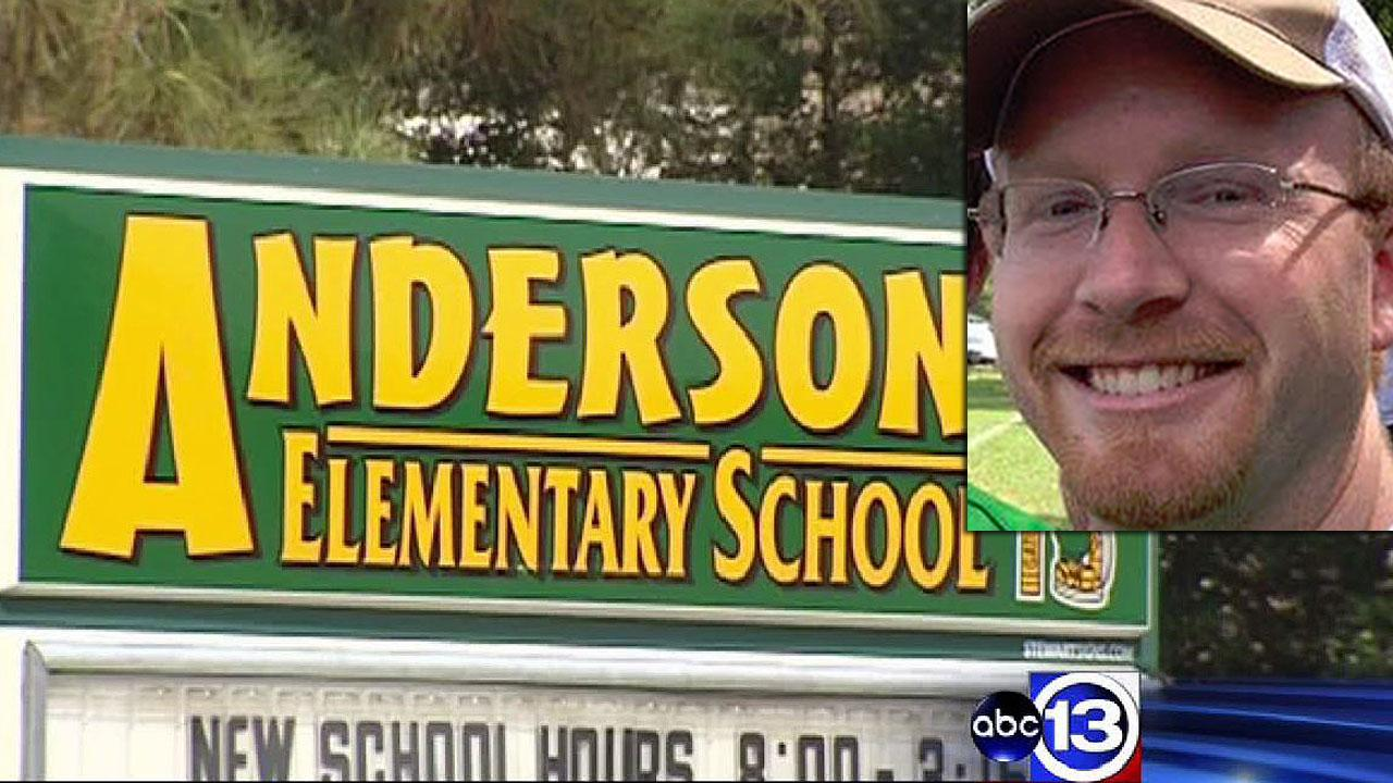 Former music teacher at Anderson Elementary School accused of child pornography