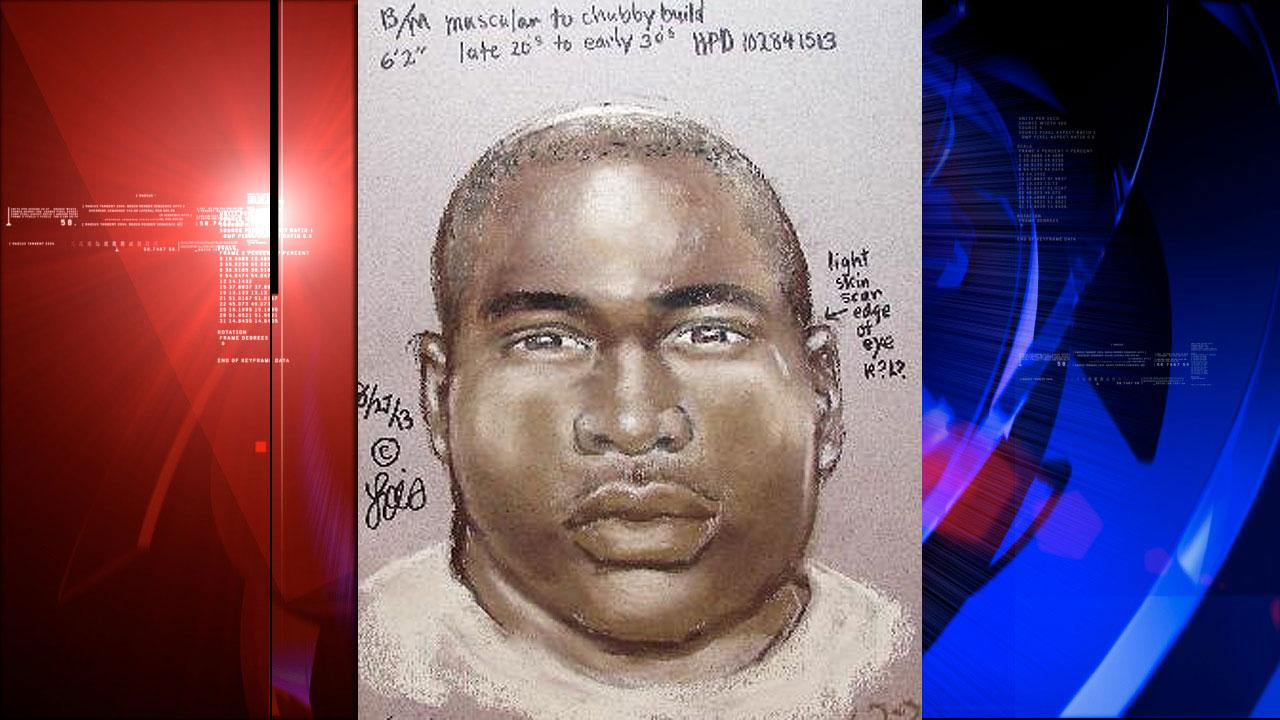 Composite sketch of suspected killer