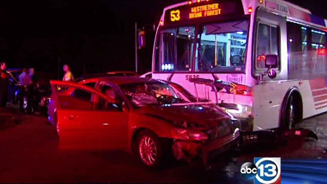 METRO bus accident