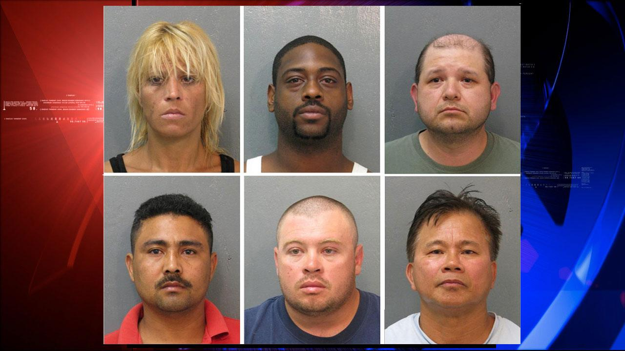 Prostitution arrests made in school zone in east Harris County