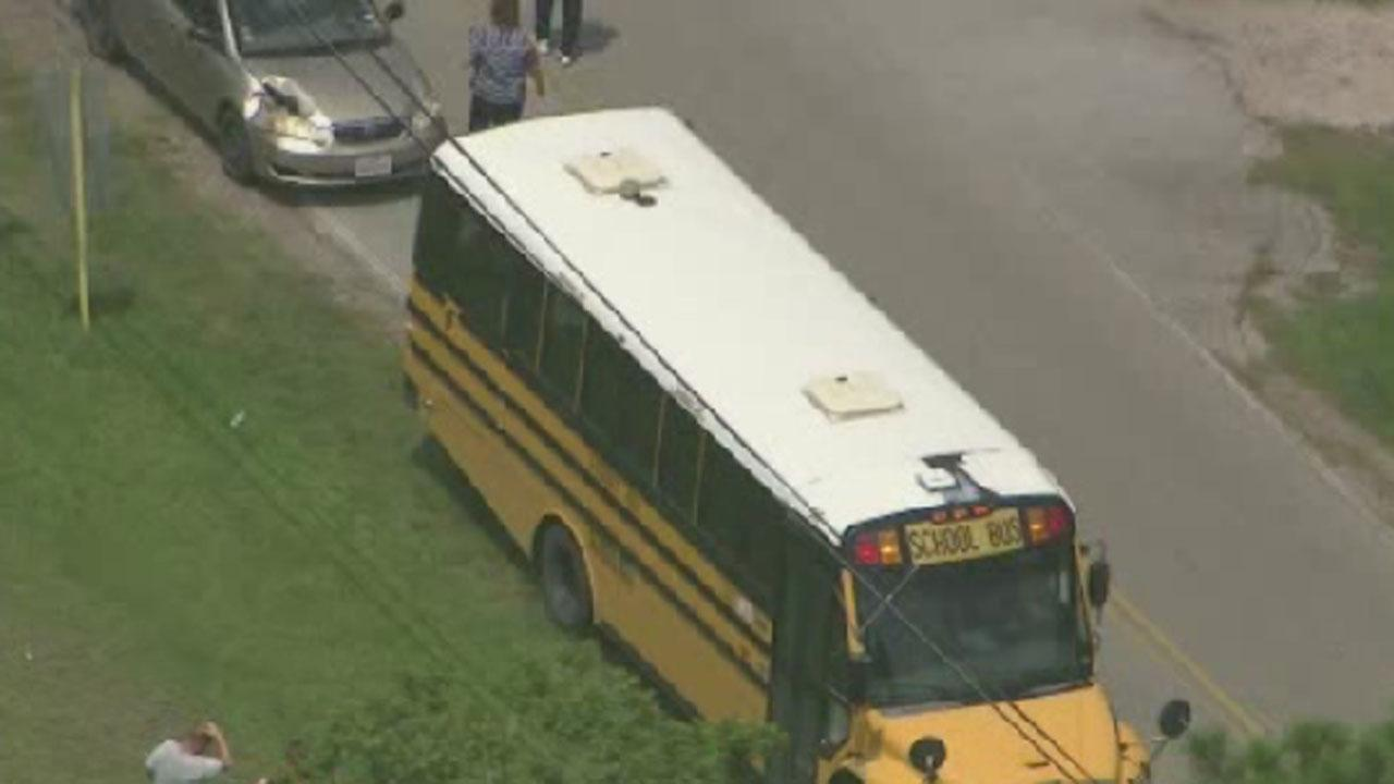 Crosby ISD bus accident