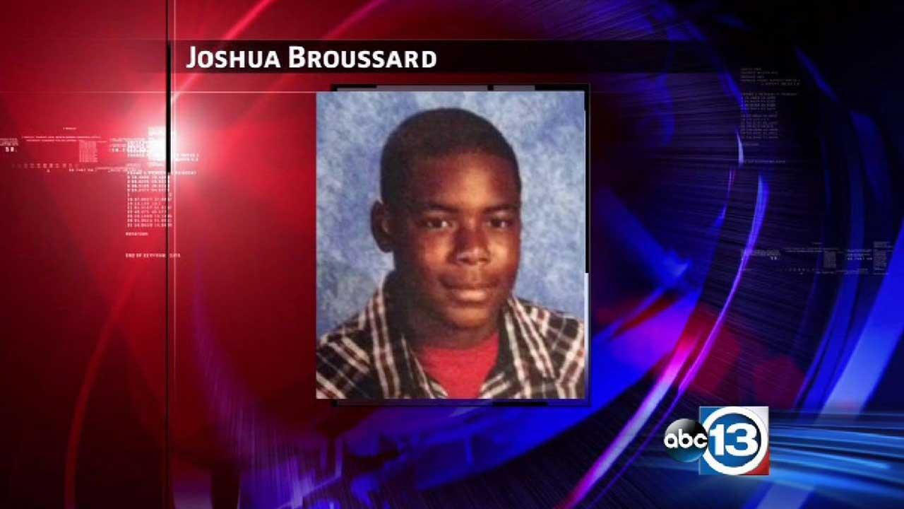 Joshua Broussard, 17, was killed yesterday at Spring High School
