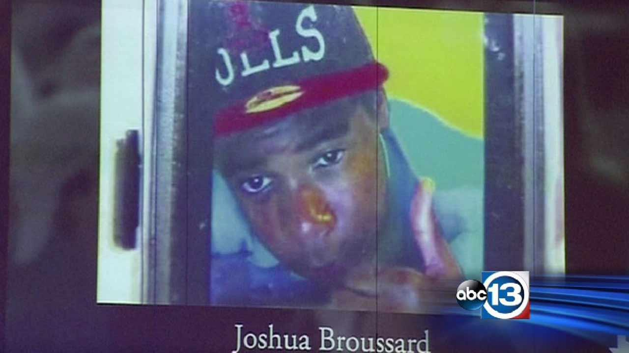 Joshua Broussard, 17, died after being stabbed allegedly by another student at Spring High School.ABC13