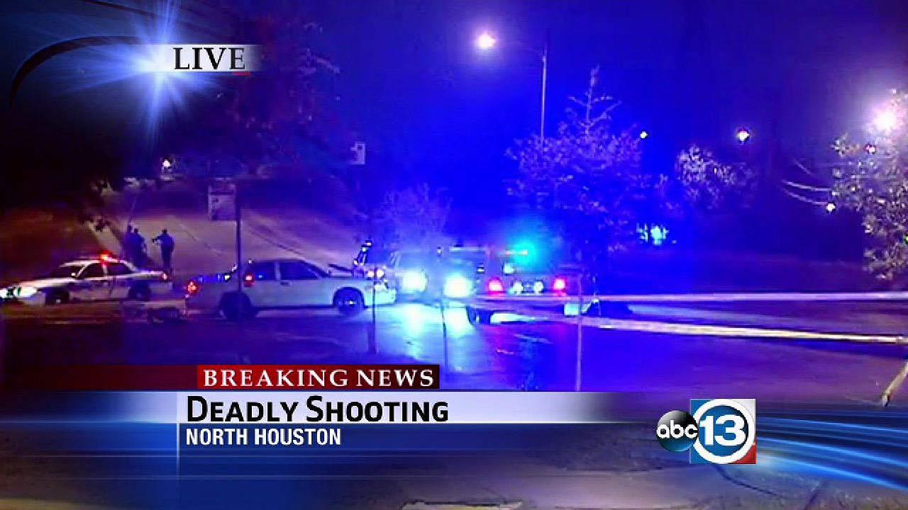 Deadly shooting in north Houston