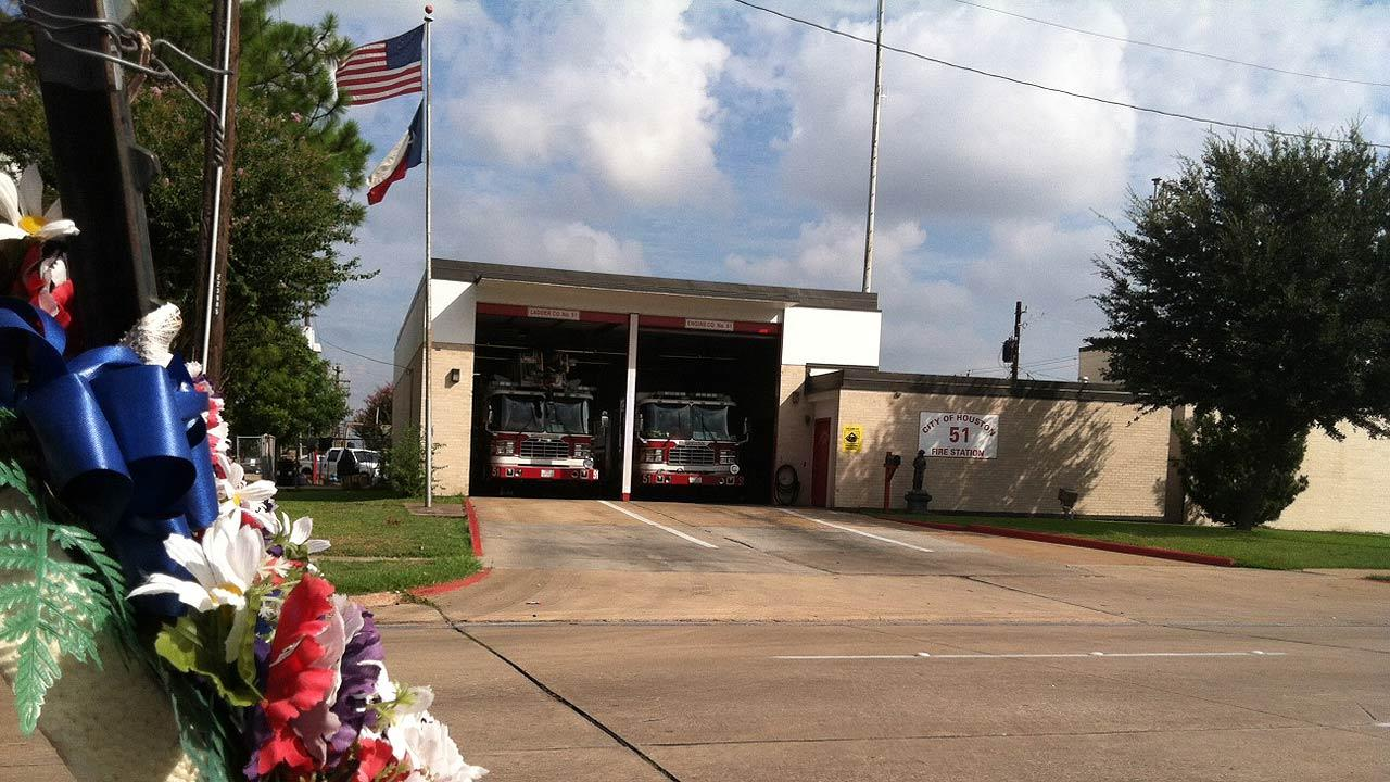 Houston Fire Department memorial