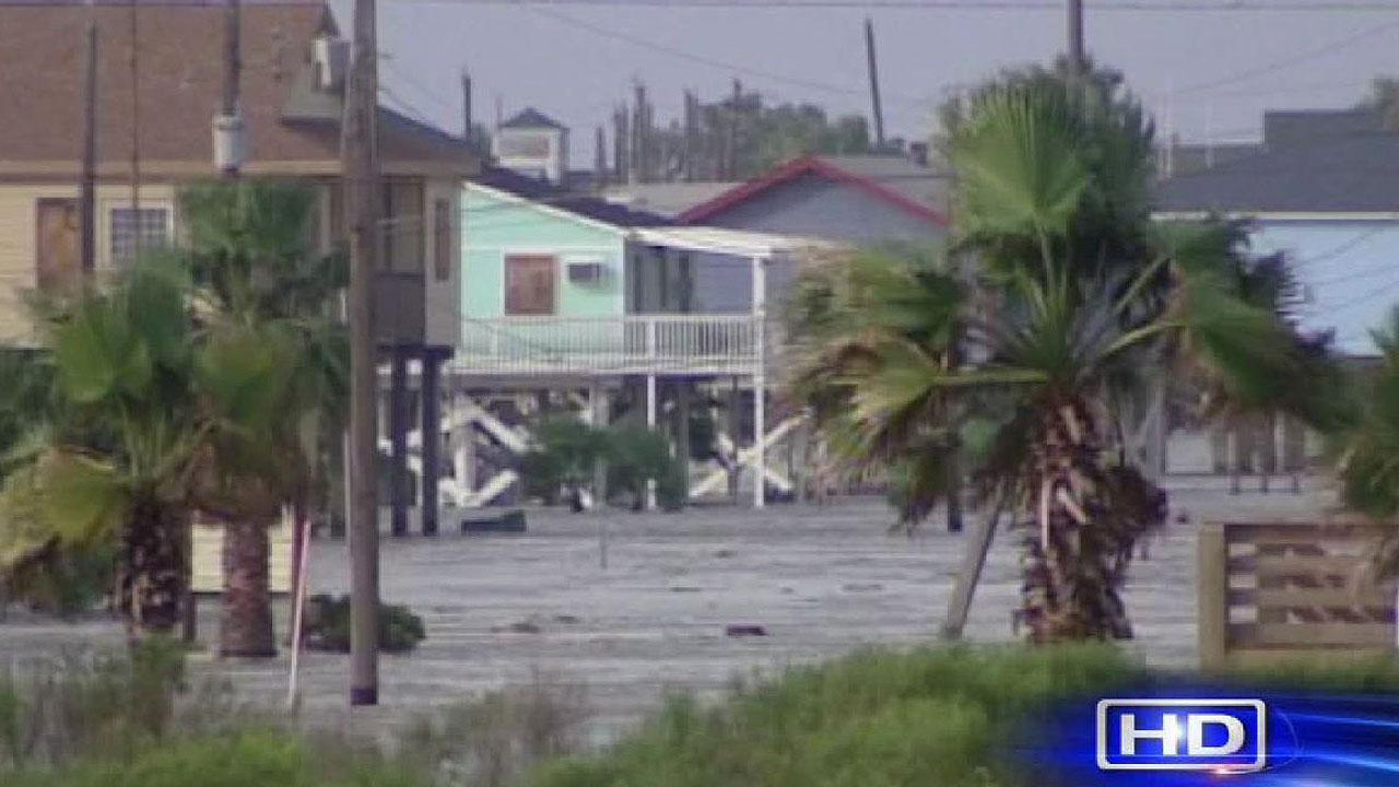 Hurricane Ike on Galveston Island