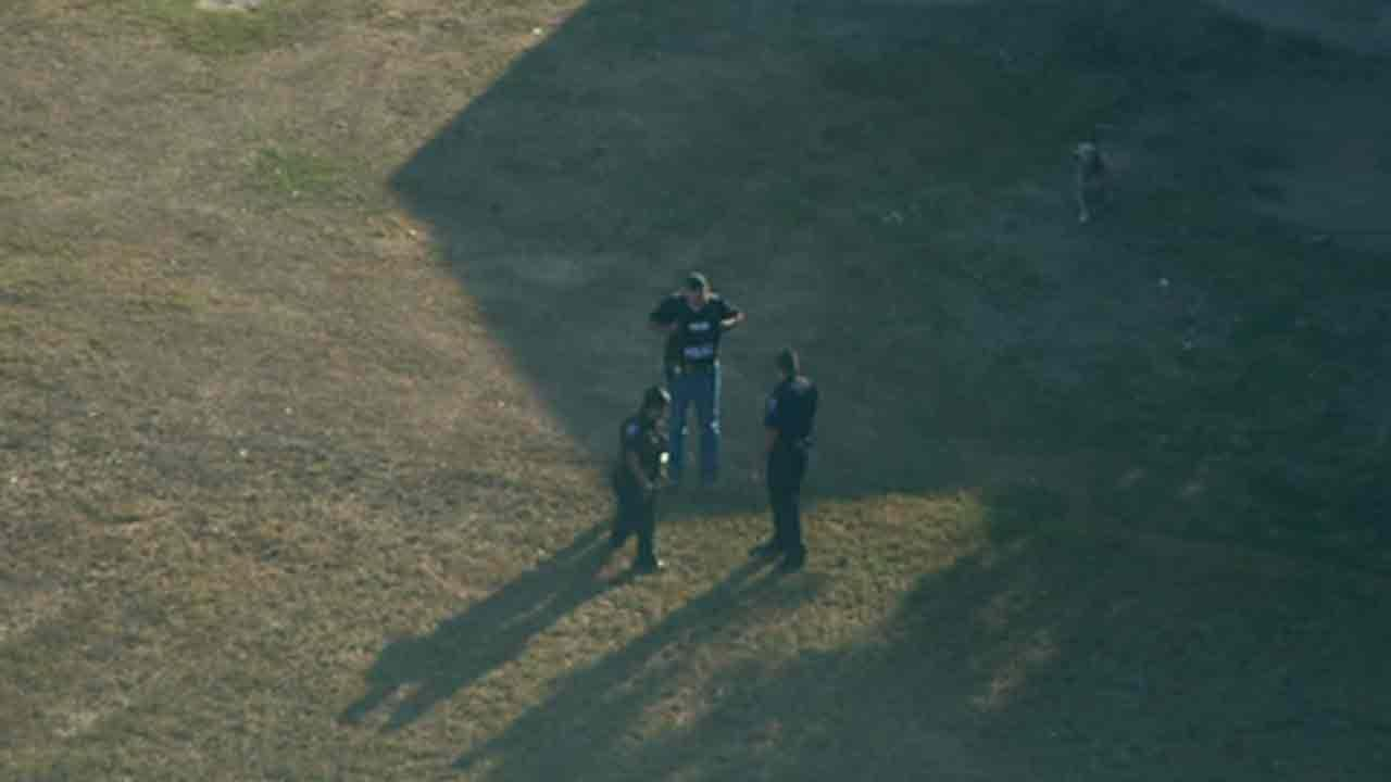 A Katy ISD employee was fatally shot Friday morning outside Tompkins High School in Ft. Bend County.  After the shooting, authorities surrounded a home in Brookshire where the suspect was believed to be holed up.  Upon entry, they found the suspect deceased.