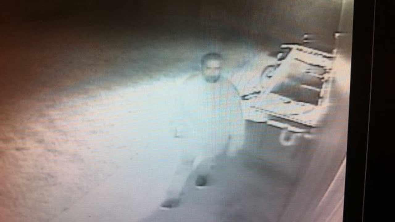 Authorities say this man was caught on video breaking into a car in the Pearland area using a special device.