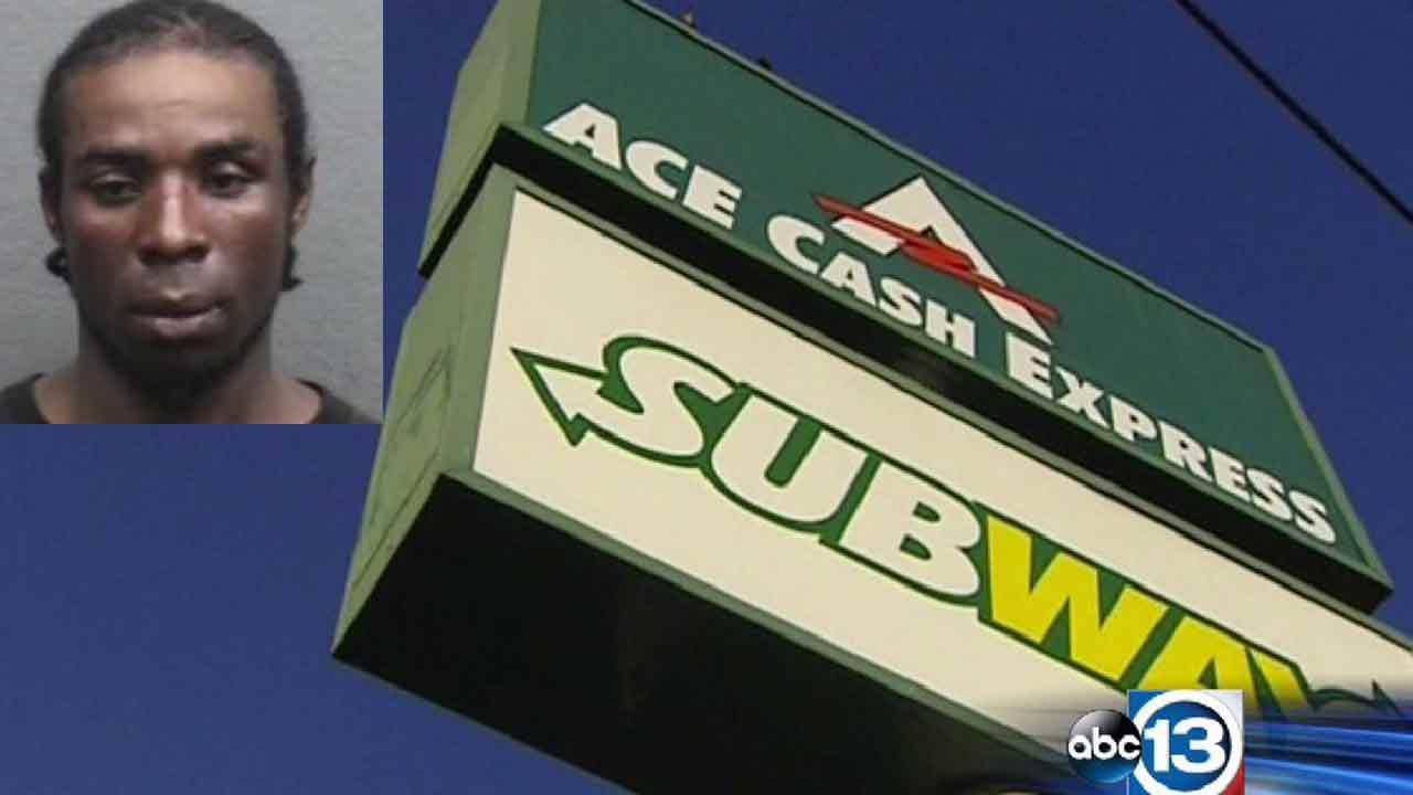 Police: Customer killed during robbery at southeast Houston Subway