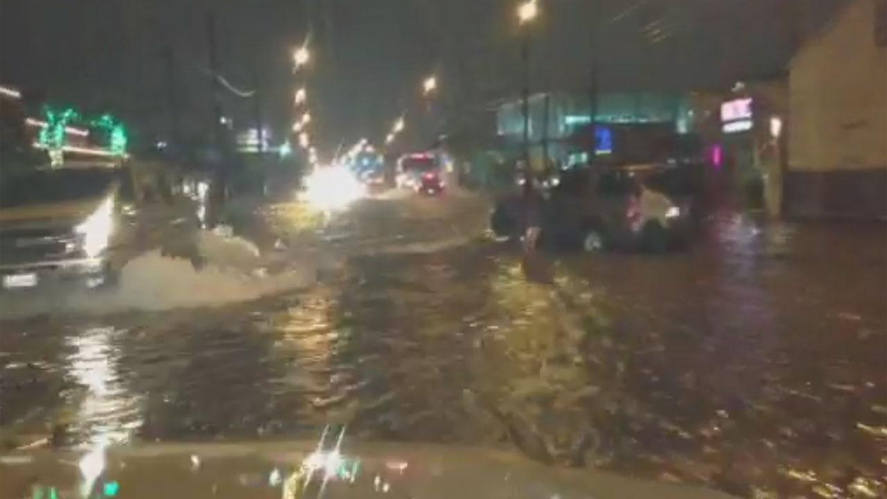 Washington Avenue flooding