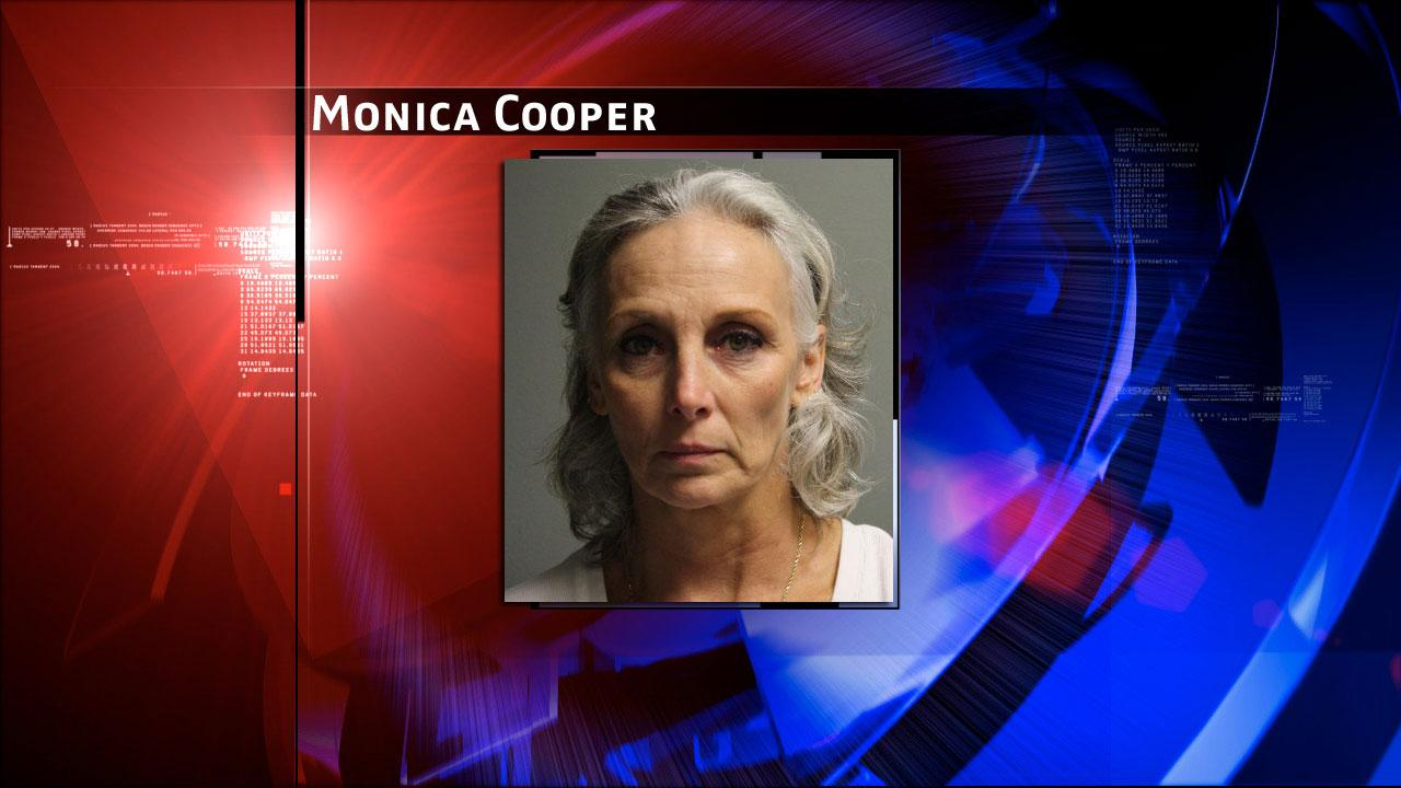 Monica Cooper, 54, of Huffman has been charged with two counts of cruelty to livestock animals.