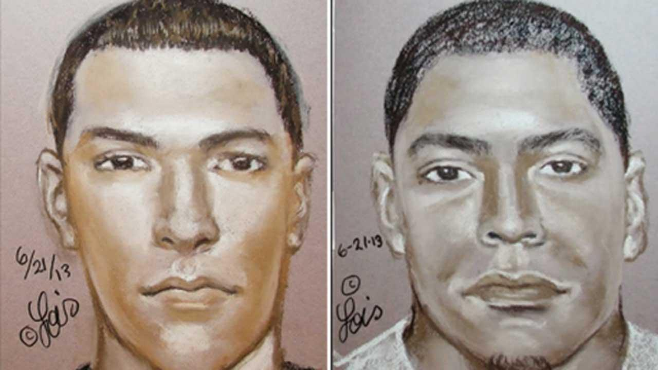 Crime Stoppers and HPD hopes the public can help track down these two men wanted for sexual assault of a juvenile in April