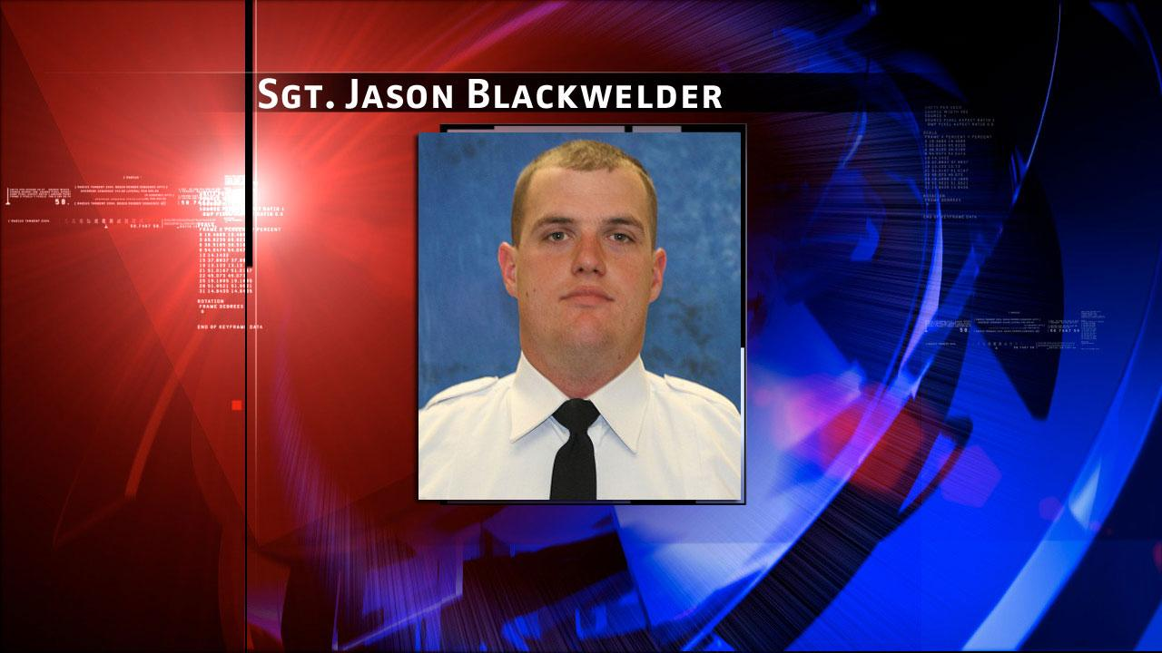 Conroe Police Officer Jason Blackwelder