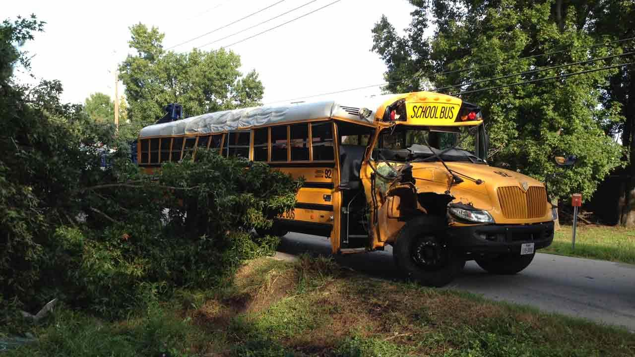 Huffman ISD school bus involved in accident in northeast Harris County