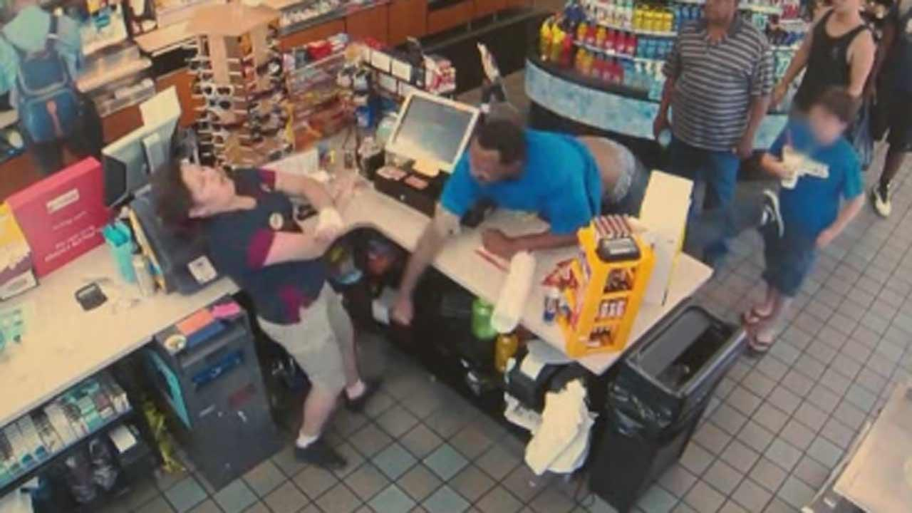 Man punches store clerk in the face over 41 cents
