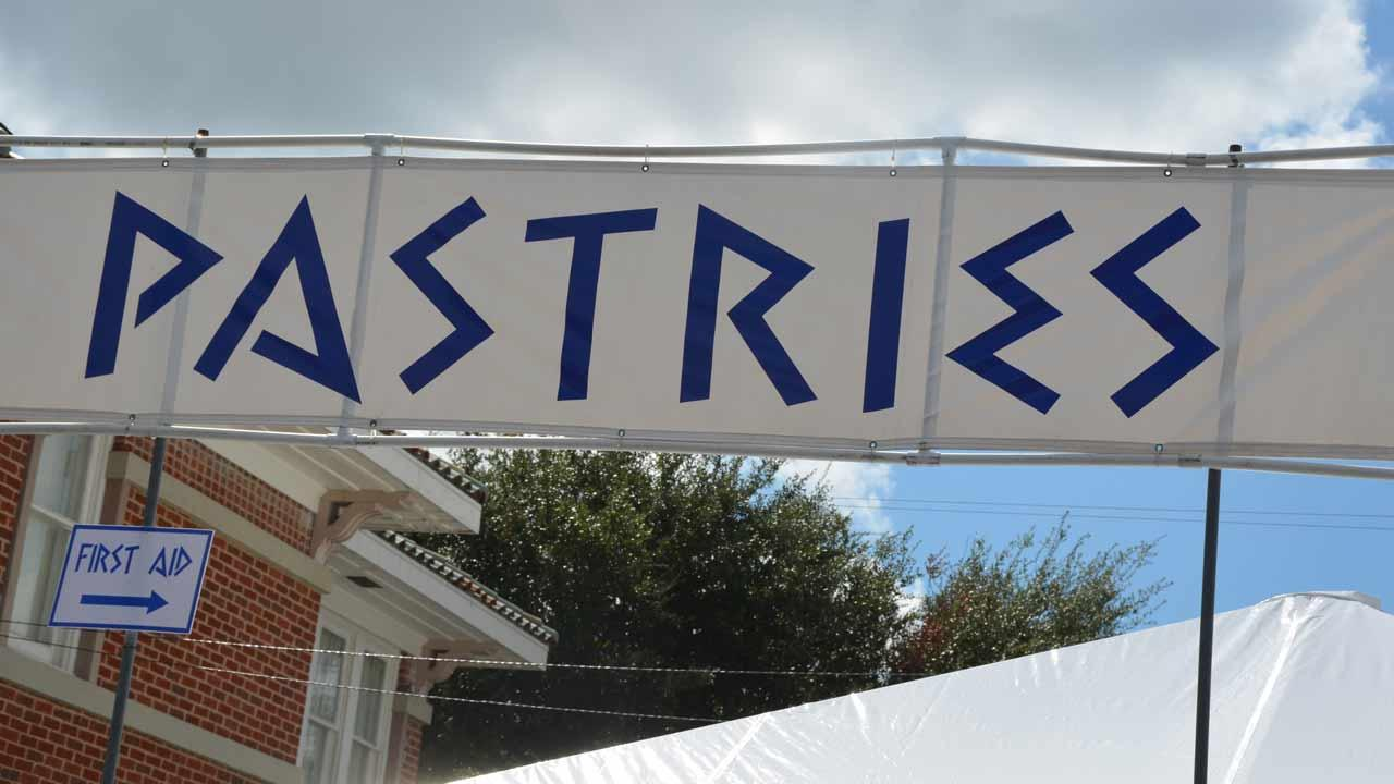 The Original Greek Festival features everything from delicious Greek food and  pastries to traditional dancing and a unique shopping experience.  The festival runs through Sunday, October 6.  <span class=meta>(ABC13&#47;Blanca Beltran)</span>