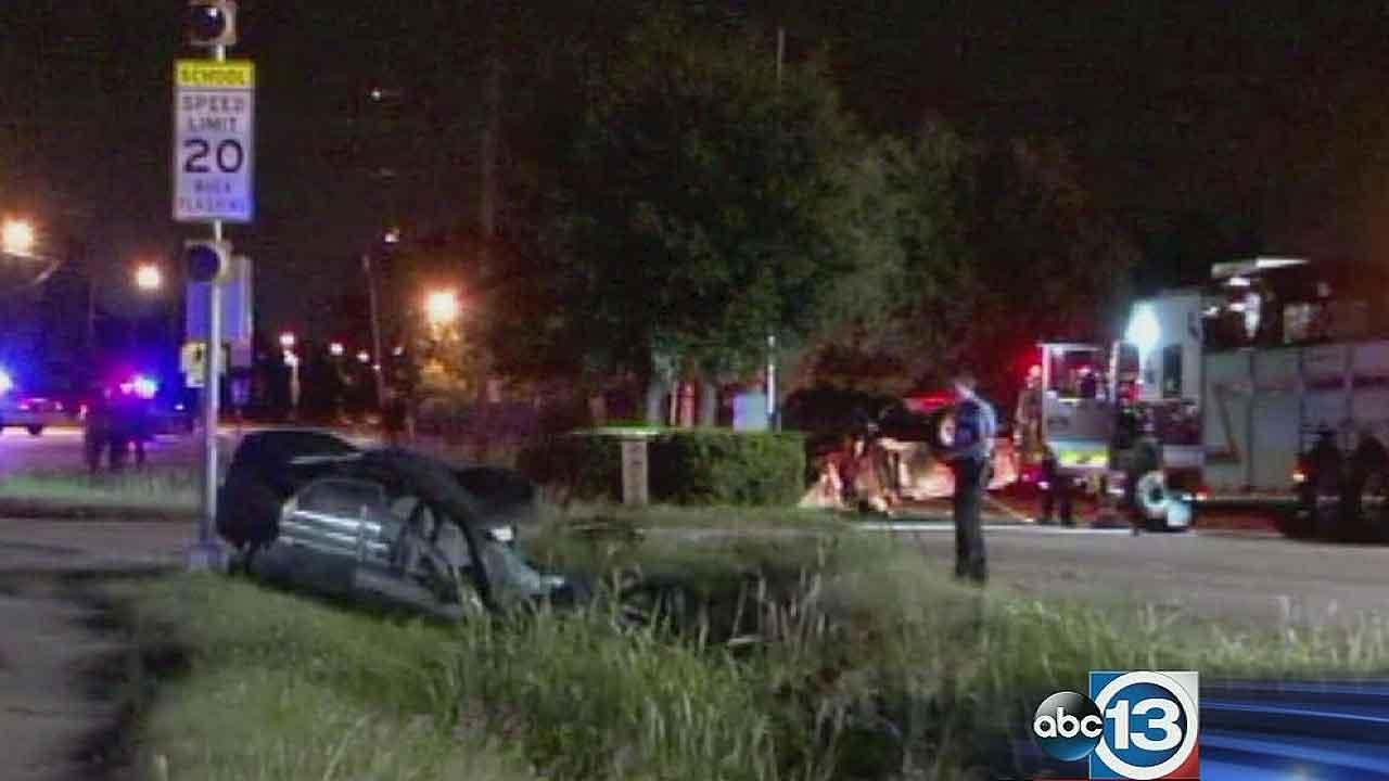 Two dead after driver allegedly runs stop sign