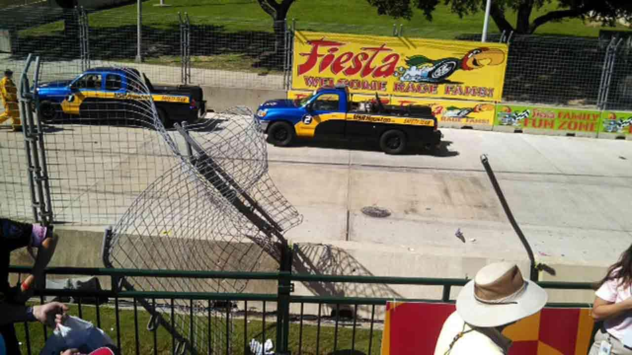 Grand Prix of Houston crash sends debris into crowd <span class=meta>(iWitness Reports)</span>