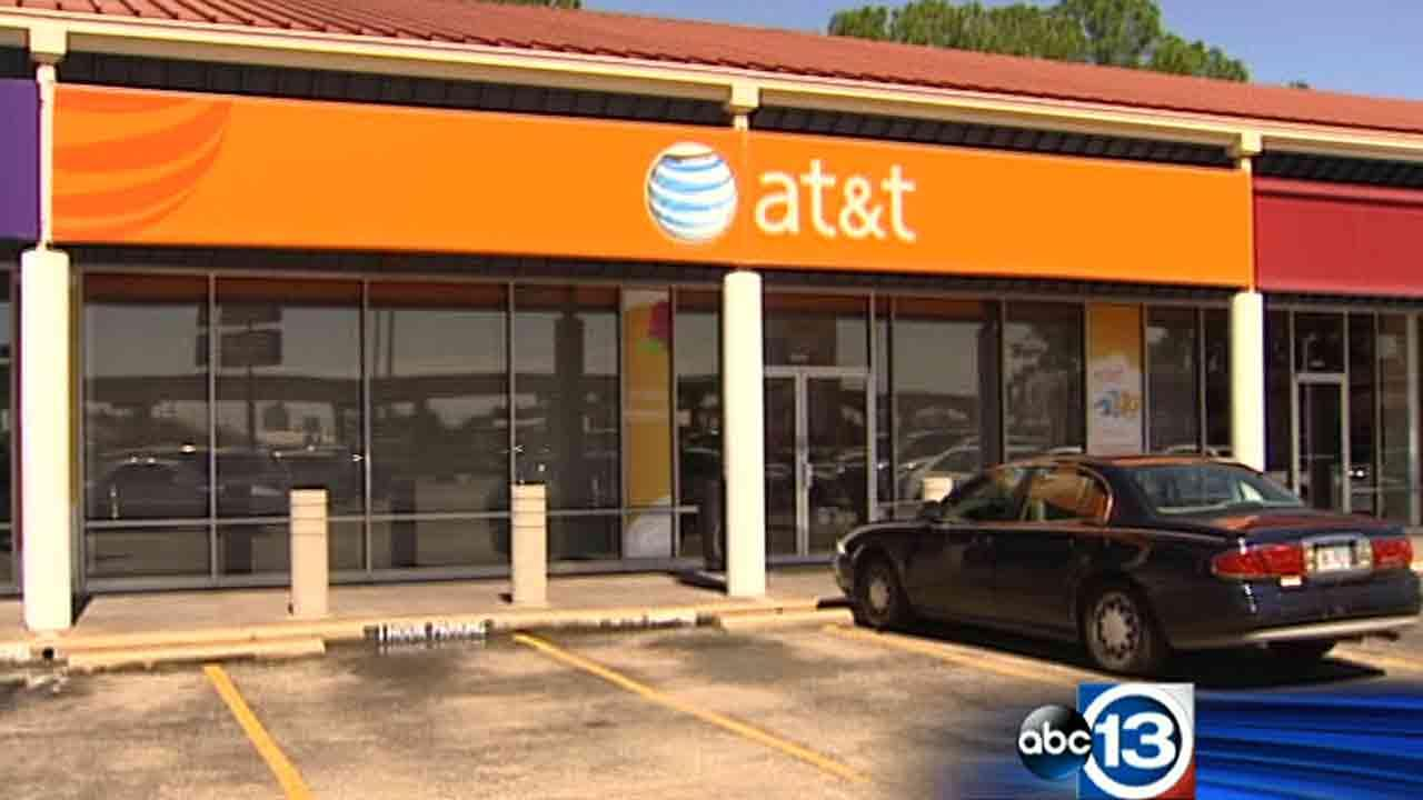 Police say two armed men robbed this store in northwest Houston