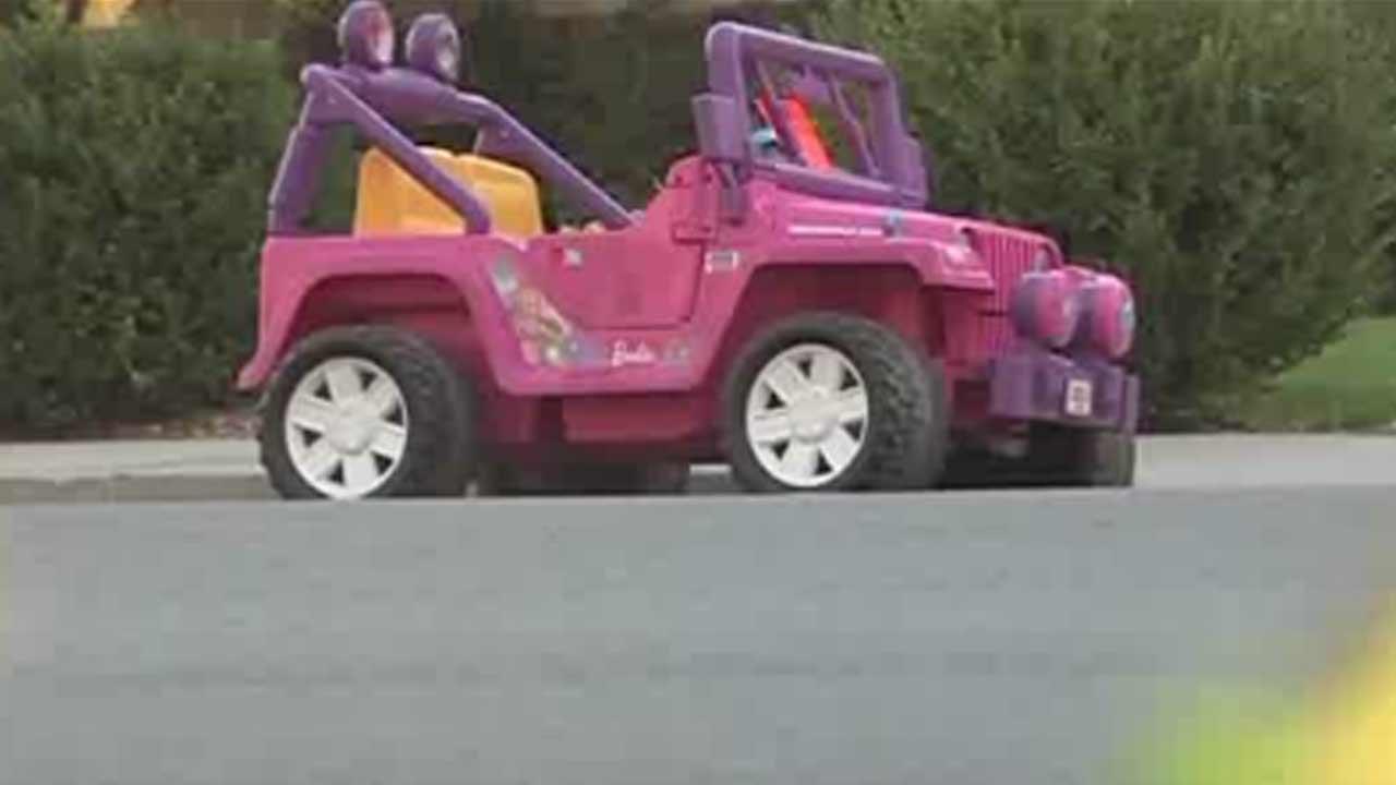 Barbie Jeep ticketed by Utah officers