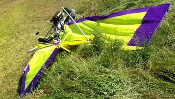 Pilot killed in 'awful accident'