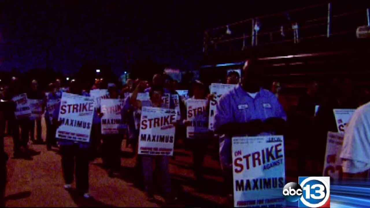 Workers at a coffee plant walked off the job overnight to protest against planned pay cuts.ABC13