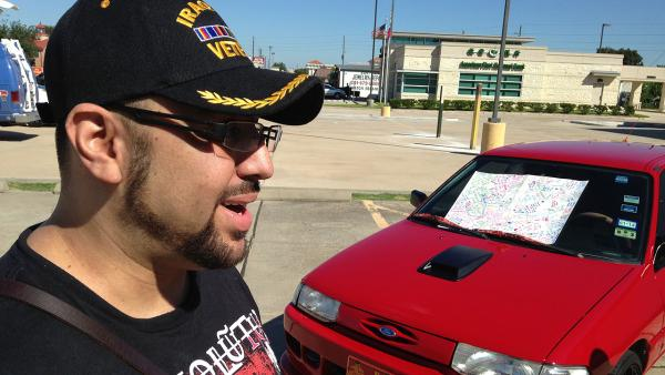 New paint job for veteran targeted by vandals