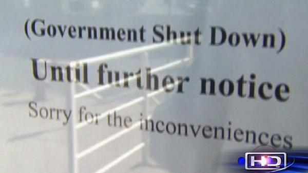 How the shutdown is affecting govt. services
