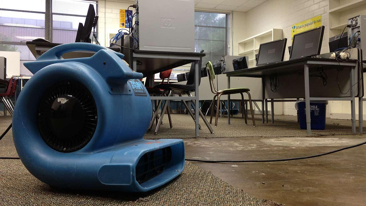 Heavy rains bring water damage to two Sealy ISD schools