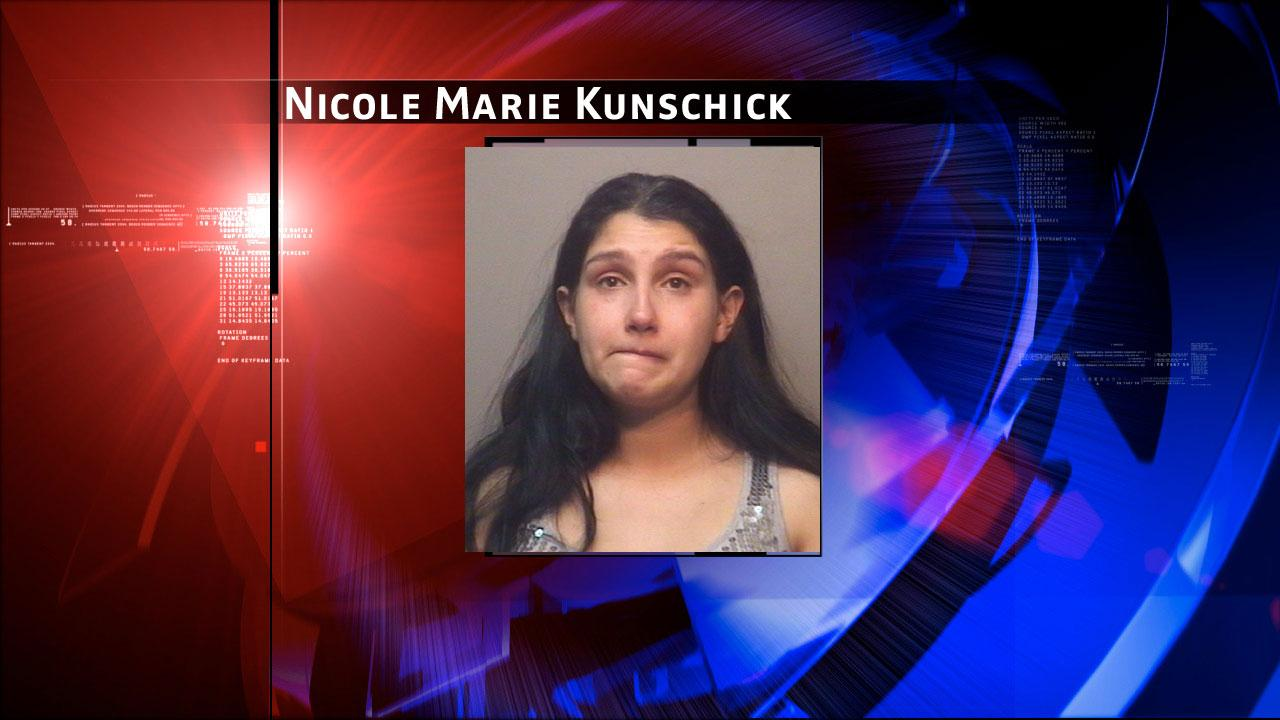 Nicole Marie Kunschick, 31, is charged with endangering a child