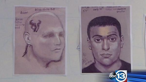 Sketches released in murder of taco truck owner