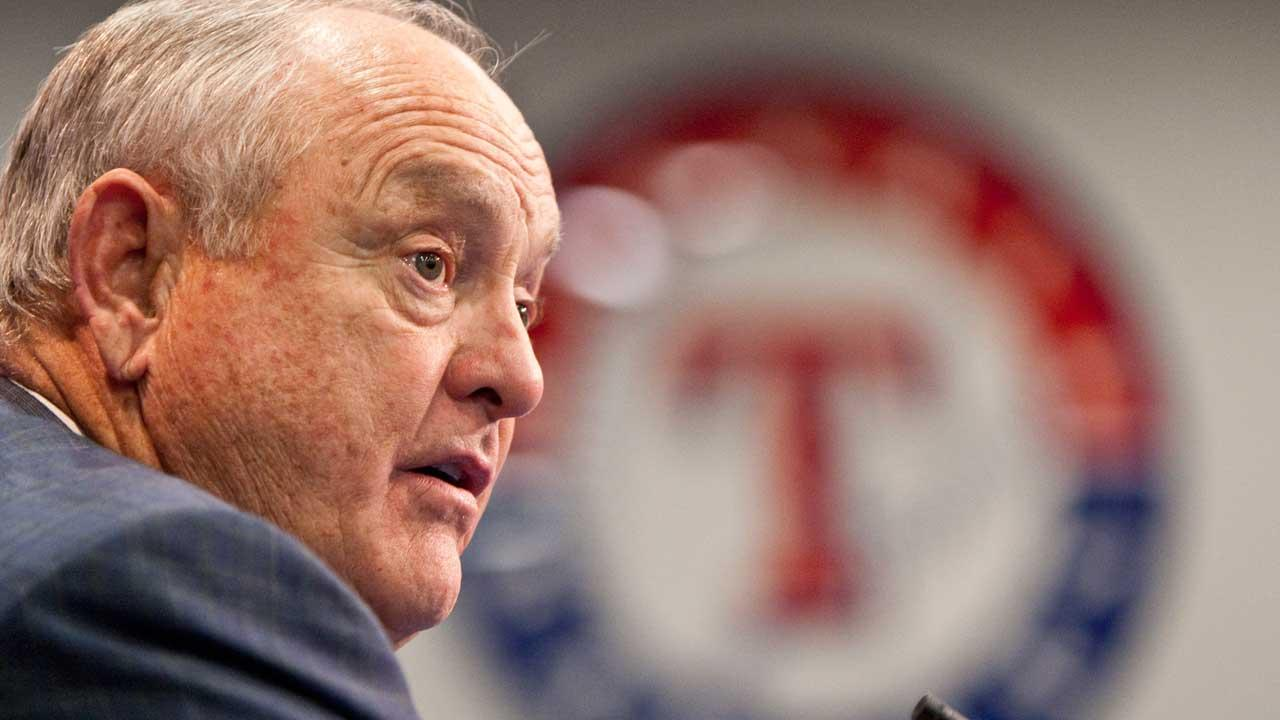 Nolan Ryan is stepping down as Rangers CEO (AP)