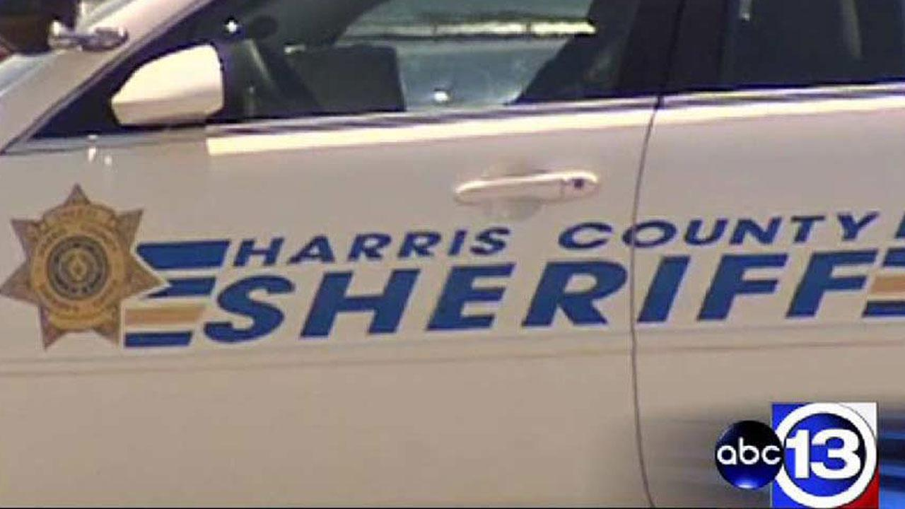 Harris County Sheriffs Office patrol vehicle