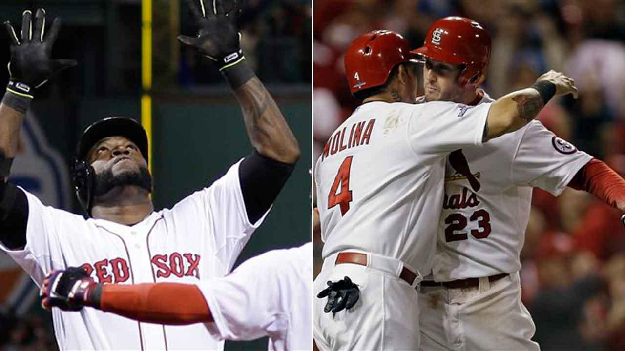 World Series 2013: St. Louis Cardinals vs Boston Red Sox