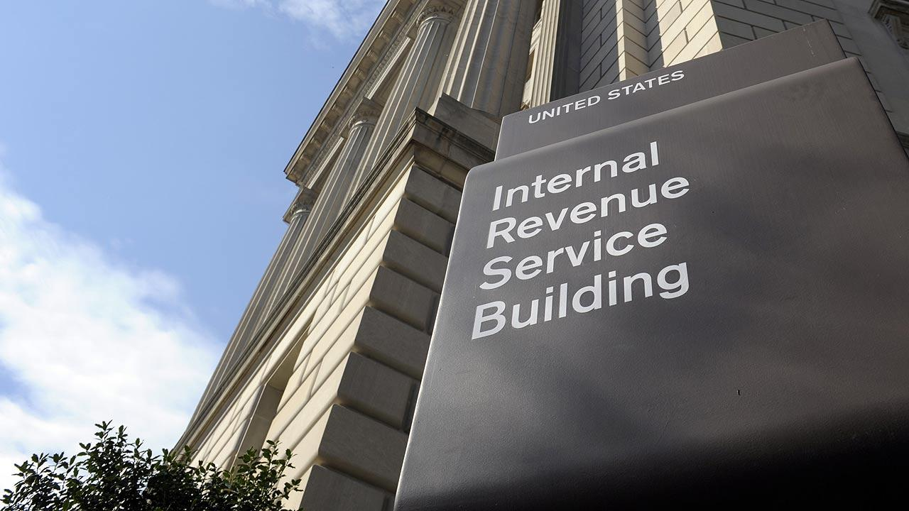 Internal Revenue Service building in Washington