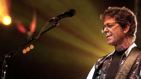 Lou Reed performs at the 13th Rock Oz'Arenes Festival, in Avenches, Switzerland, Wednesday, Aug. 11, 2004
