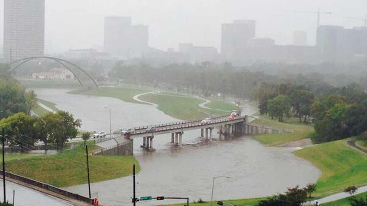 Brays Bayou near Hermann ParkABC13/Christine Dobbyn